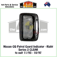 Nissan GQ Patrol Series 2 Guard Indicator - Right CLEAR