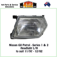 Nissan GU Patrol Series 1/2 Headlight - L/H