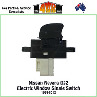 Nissan Navara D22 Electric Window Single Switch