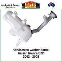 Windscreen Washer Bottle Nissan Navara D22 2002-2008