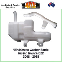 Windscreen Washer Bottle Nissan Navara D22 2008 - 2015