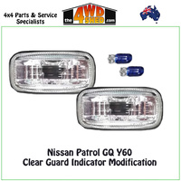 Clear Indicator Modification Upgrade - Nissan Patrol GQ