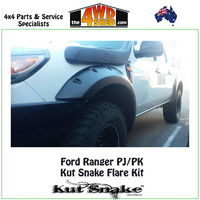 Kut Snake Monster Flare Kit - Ford Ranger PJ / PK UTE KIT