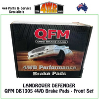 Landrover Defender Front Brake Pads - QFM DB1305 4WD