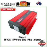 Redarc 1500W 12V Pure Sine Wave Inverter