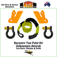 Recovery Tow Points, Shackles & Equaliser Strap Kit - Volkswagen Amarok