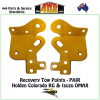 Recovery Tow Points PAIR Holden Colorado RG & Isuzu DMAX