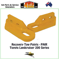 Recovery Tow Points PAIR - Toyota 200 Series Landcruiser