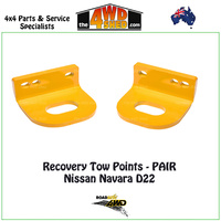 Recovery Tow Points PAIR - Nissan Navara D22