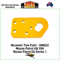Recovery Tow Points SINGLE - Nissan Patrol GQ Y60 & GU Y61 Series 1