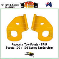 Recovery Tow Points PAIR - Toyota 100 / 105 Series Landcruiser