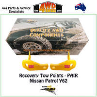 Recovery Tow Points PAIR Nissan Patrol Y62