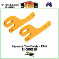 Recovery Tow Points PAIR - Toyota FJ Cruiser