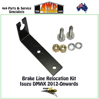 Brake Line Relocation Kit Isuzu DMAX 2012-Onwards
