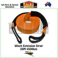 Winch Extension Strap - 20M 4500kgs