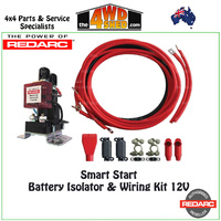 Smart Start Battery Isolator & Wiring Kit 12V