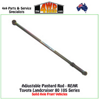 Adjustable Panhard Rod Toyota Landcruiser 80 105 Series - REAR