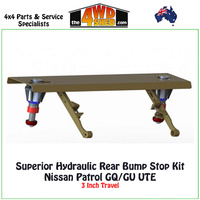 Superior Hydraulic Rear Bump Stop Kit Nissan Patrol GQ GU - Ute