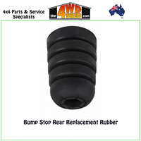 Bump Stop Rear Replacement Rubber