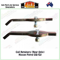 Coil Retainers Nissan Patrol GQ/GU (Rear Only)
