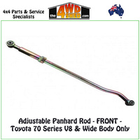 Adjustable Panhard Rod Toyota 70 Series V8 & Wide Body Only - FRONT