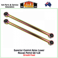 Lower Control Arms Nissan Patrol GU 4.8l Straight Fixed
