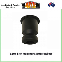 Bump Stop Front Replacement Rubber