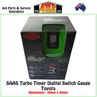 SAAS Turbo Timer Digital Switch Gauge SG81801