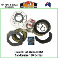 Swivel Hub Rebuild Kit - Landcruiser 80 Series