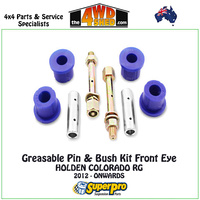 Greasable Pin & Bush Kit Front Eye - HOLDEN COLORADO RG 2012-ONWARDS