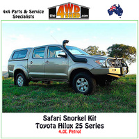 Safari Snorkel Toyota Hilux 25 Series 04/2005-Onwards