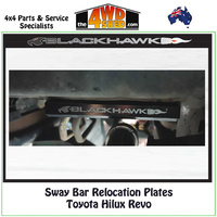 Sway Bar Relocation Plates Toyota Hilux Revo