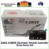SAAS S-DRIVE Electronic Throttle Controller Nissan Navara D40