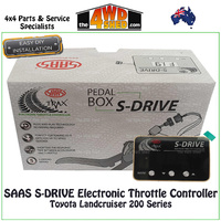 SAAS S-DRIVE Electronic Throttle Controller Toyota Landcruiser 200 Series