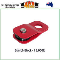 Snatch Block - Red