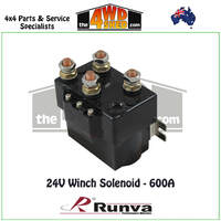 24V Winch Solenoid - 400A
