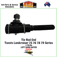 Toyota Landcruiser 75 76 78 79 Series Tie Rod End - LH OUTER fit RELAY ROD