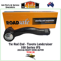 Toyota Landcruiser 100 Series Tie Rod End - RH OUTER