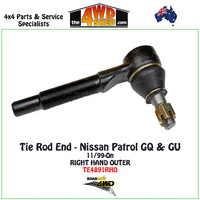 Nissan Patrol GQ & GU Tie Rod End - RH OUTER