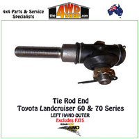 Toyota Landcruiser 60 70 Series Tie Rod End LH fit Relay Rod