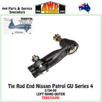 Nissan Patrol GU Y61 Series 4 Tie Rod End - LH OUTER