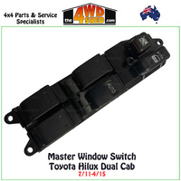 Window Master Switch Control Toyota Hilux Dual Cab