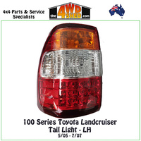 100 105 Series Toyota Landcruiser Tail Light LH