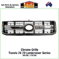 76 79 Series Toyota Landcruiser Chrome Grille