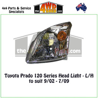 Prado 120 Series HeadLight - L/H