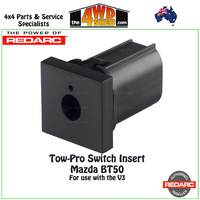 Tow-Pro Switch Insert Panel Mazda BT50