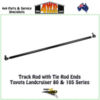 Track Rod with Tie Rod Ends - Toyota Landcruiser 80 & 105 Series