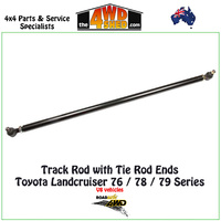 Track Rod with Tie Rod Ends - Toyota Landcruiser 76/78/79 Series V8