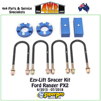 Easy-Lift Spacer Kit Ford Ranger PX2 6/2015 - 07/2018
