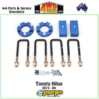 Easy-Lift Spacer Kit Toyota Hilux 2015-On